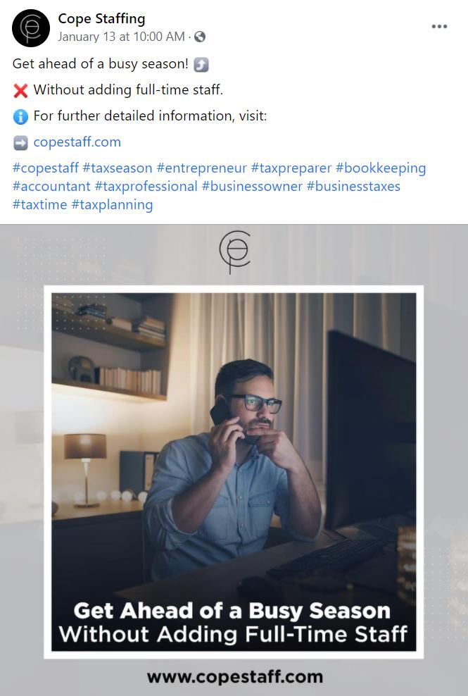 copestaff social media 2