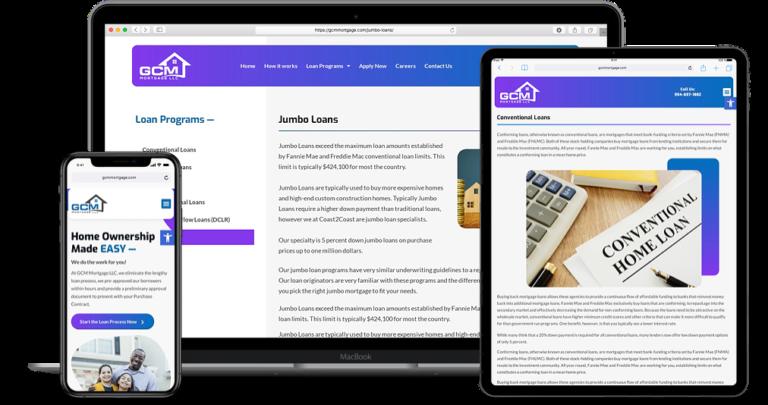 GCM Mortgage Website2