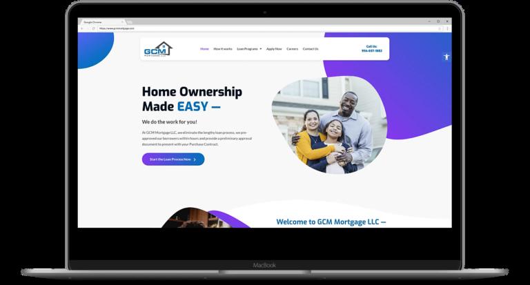 GCM Mortgage Website3