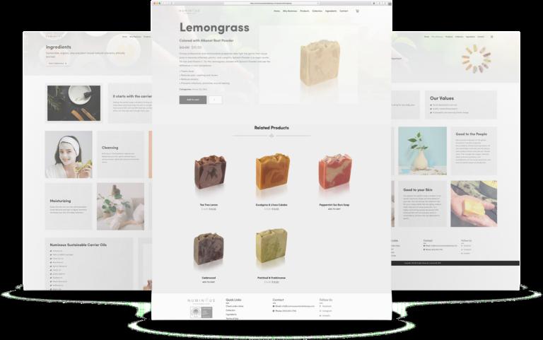 Numinous - Web Design